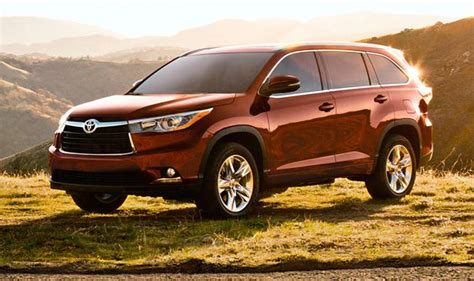 Toyota Highlander Redesign 5 Toyota Models Land On List Of Consumer Reports Top