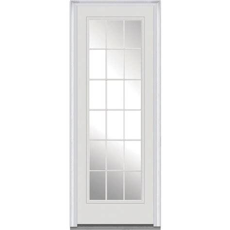 36 Exterior Door 36 X 96 Steel Doors Front Doors Exterior Doors Doors Windows The Home Depot