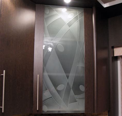etched glass designs for kitchen cabinets furniture artistic home interior decoration ideas using