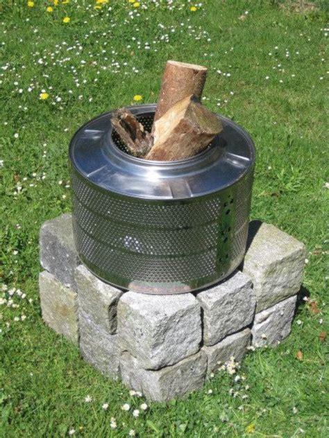 fireplace der parts feuerkorb grill waschmaschinentrommel garden pit