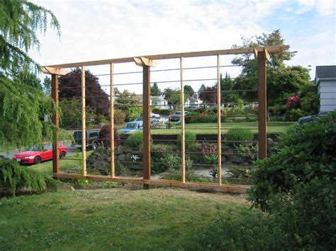 backyard hops divine iron trellis design with wooden frames as inspiring