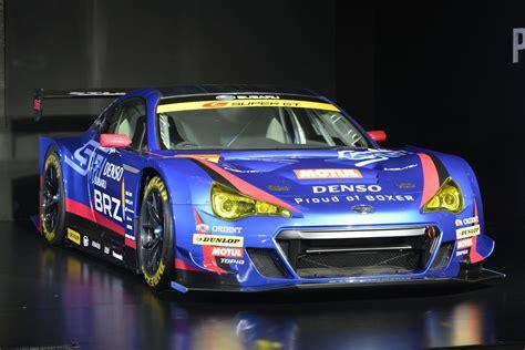 subaru brz racing subaru unwraps brz gt300 at the 2015 tokyo auto salon