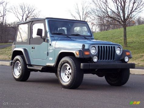 gunmetal jeep 1997 gunmetal pearl jeep wrangler sport 4x4 40962050