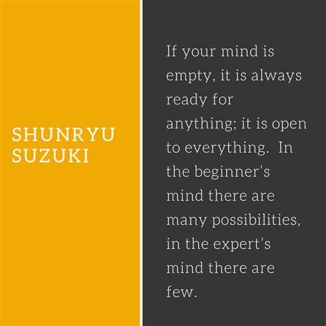 Shunryu Suzuki Quotes 227 Meditation Quotes To Inspire Your Practice The
