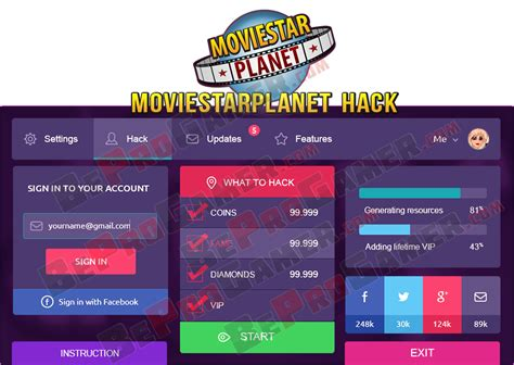 moviestarplanet hack how to cheat msp moviestarplanet hack free vip msp hack cheats