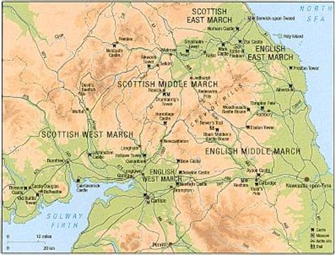 the marches a borderland journey between and scotland books border reivers