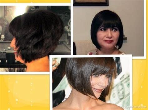 how to fix chin length hair how to cut hair at home do a short stacked chin length