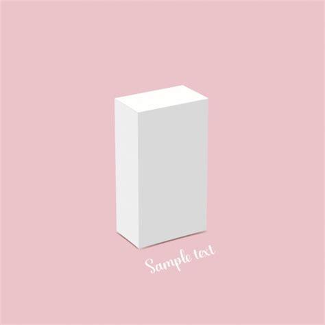 white box template design vector free download