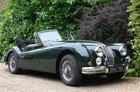 antique jaguar file jaguar xk140 convertible classic car hshire uk