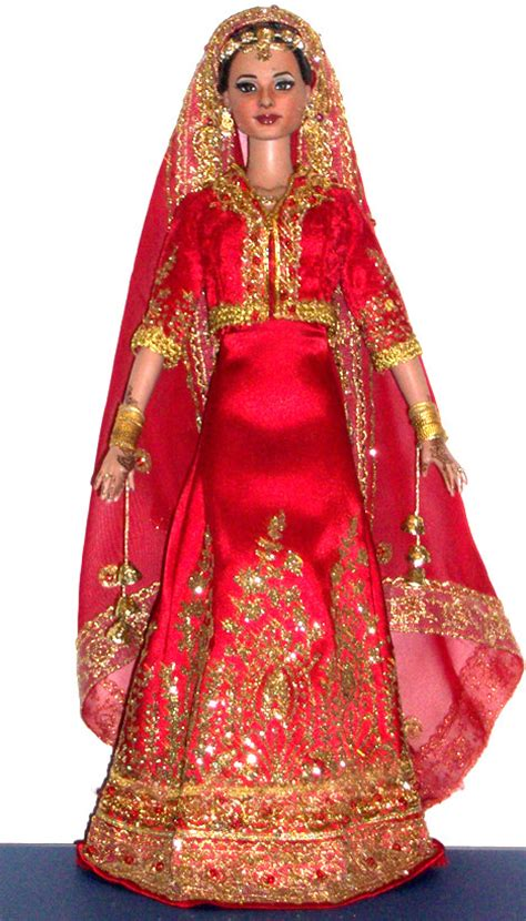 design a doll india indian bride commission this 16 inch doll was a