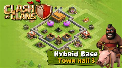 layout for town hall 3 coc th3 defense layout myideasbedroom com