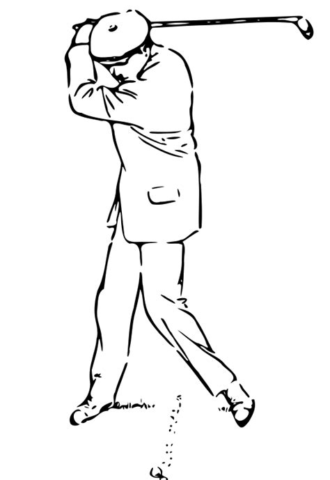 golf coloring book pages free golf printable coloring sheet for kids pictures