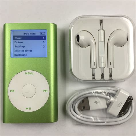 Second Mini 2 32gb 32gb ipod mini green 2nd ssd flash upgrade new