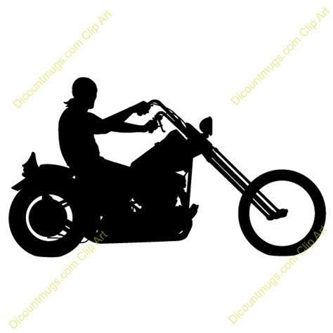 Clipart Motorcycle Rider motorcycle clipart harley clipart panda free clipart images