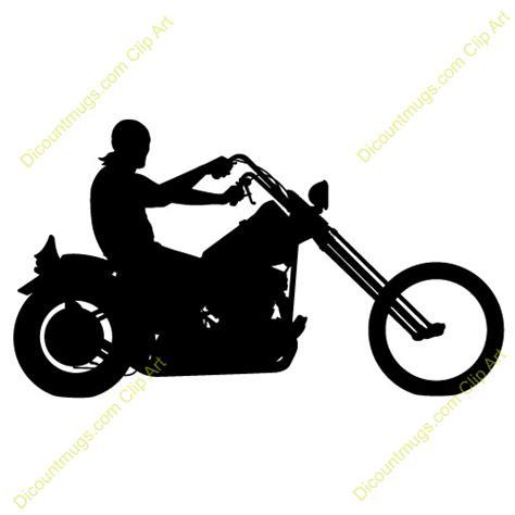 Free Motorcyle Rider Clipart   Custom Clip Art   10516