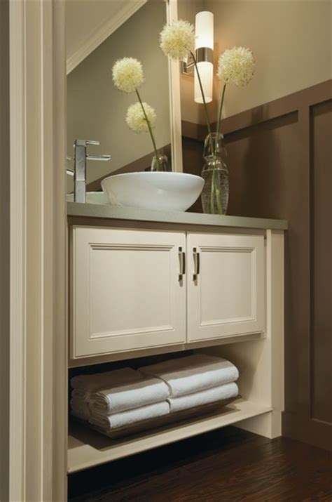 aristokraft landon vanity cabinets traditional