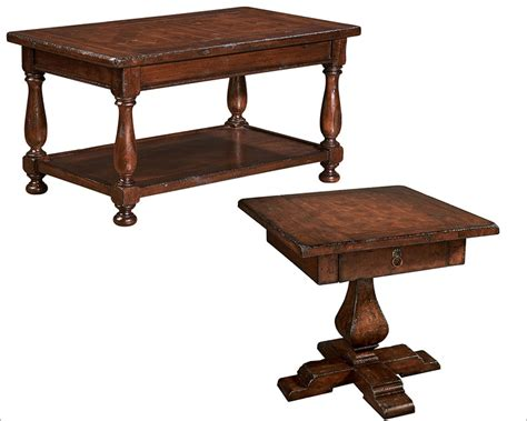 Traditional Coffee Table Sets Traditional Coffee Table Set By Hekman He 81228 Set