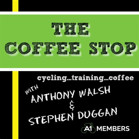 Stop L Original W211 Seri E the coffee stop cycling podcast with a1members podcast