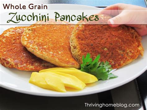 whole grain zucchini pancakes how to freeze and save garden zucchini thriving home
