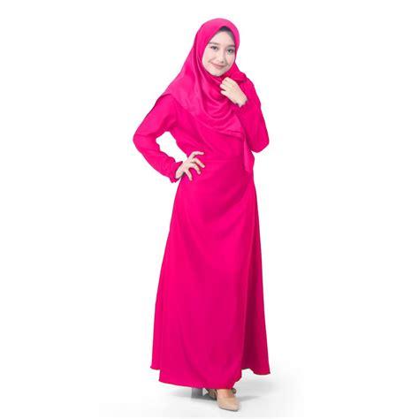 Syari Pink Fanta jual titan s wardrobe gamis dress wanita organza kaftan