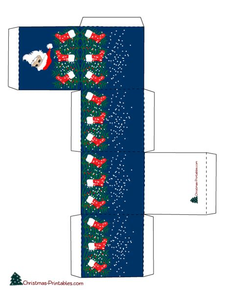 printable christmas boxes free printable christmas gift boxes