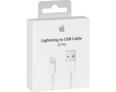 Original Apple Original Lightning Usb Cable White original apple usb to lightning cable white 2m md819zm a
