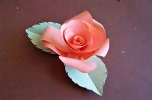 Roses With Paper - how to make paper roses paper flowers