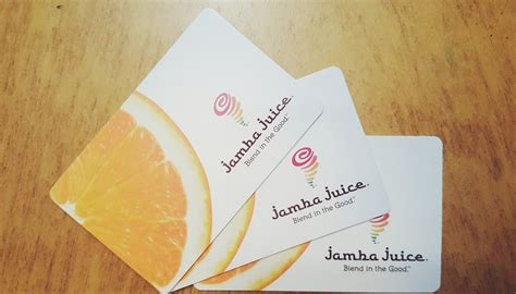 Jamba Juice Gift Card Costco - jamba juice gift card lamoureph blog