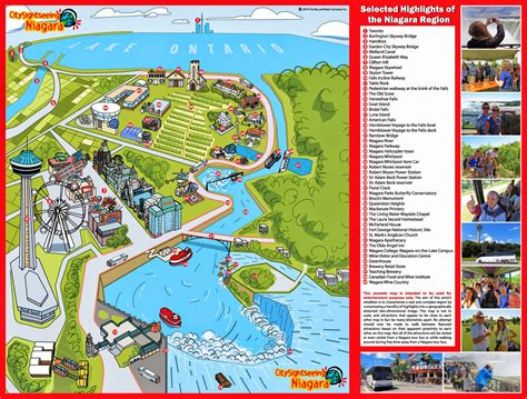 map usa niagara falls map for niagara falls free printable maps