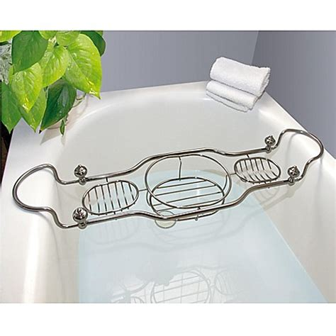 bathtub caddies taymor 174 imperial bathtub caddy with antique nickel finish