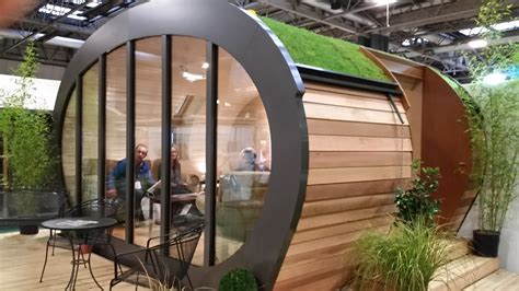Eco Garden Sheds by Luxury Eco Garden Rooms