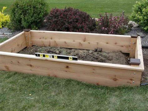 raised bed garden plans landscaping gardening raised garden bed design raised