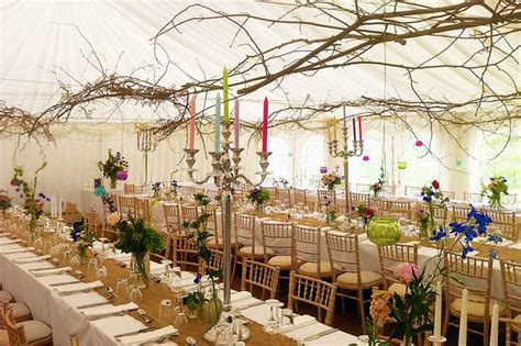 Decoration Tables by Vintage Wedding Marquee