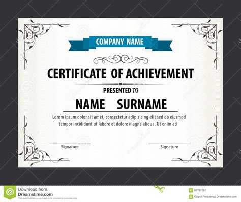 custom certification card size template horizontal certificate template diploma letter size
