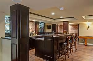 Irish Kitchen Designs sugarfoot basement pub style bar finished basement company