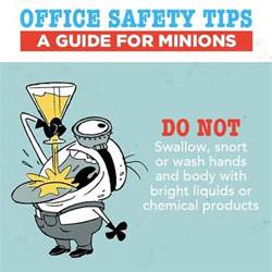 office safety do not play with chemicals