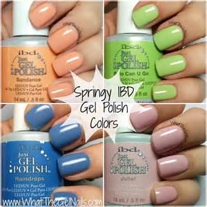 ibd gel colors springy ibd just gel colors