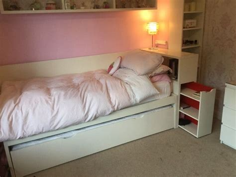 Ikea Pull Out Bed by Ikea Flaxa Bed With Pullout Underbed In Crewe Cheshire