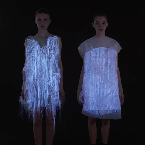 Dress Stelan Live motion activated clothing no where now here by fashion
