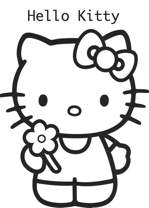 imagenes de hello kitty y piolin hello kitty para colorear