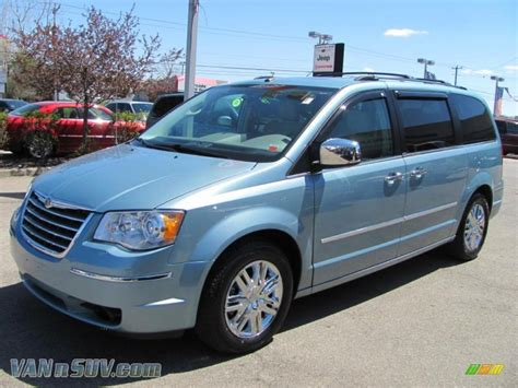 2008 town and country chrysler 2008 chrysler town and country blue 200 interior and