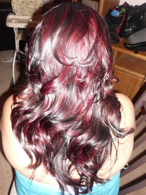 asian magenta highlight 17 best images about hair highlights on pinterest