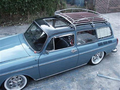 Vw Fastback Roof Rack No Blister two tone vw fastback 1973 volkswagen type 3 squareback factory metal sunroof 2 toned paint
