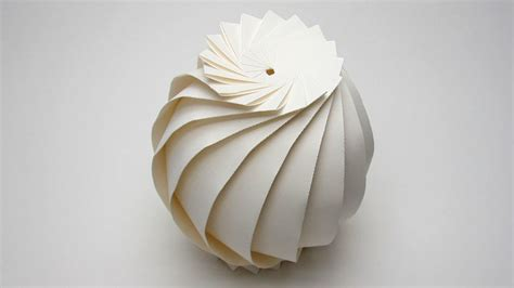 easy origami sphere  flaps full tutorial jun mitani youtube