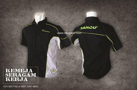 contoh desain kemeja seragam kerja pt sancukonveksi