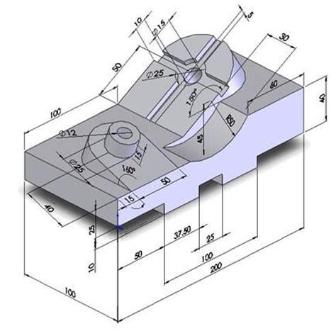 autocad tutorial for mechanical engineering tut008 3 jpg 434 215 428 mechanical drawings blueprints