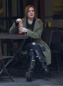 Lindsay Lohan Kicked Out Of Hotels by Lindsay Lohan At A Hotel In New York City Gotceleb