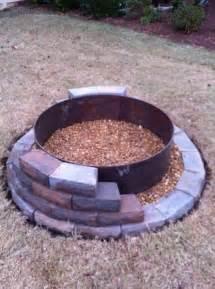 Build A Firepit Building A Pit Rugged