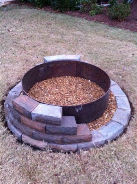 Build A Firepit Building A Pit Rugged