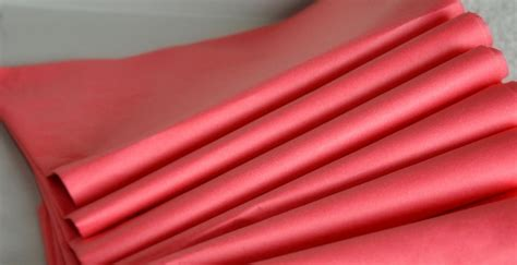 Gift Wrapping Paper Sheets - coral pink tissue paper 24 sheets tissue paper coral